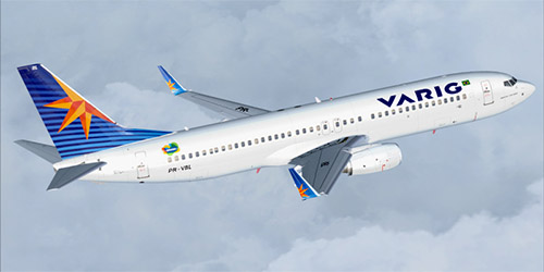 Varig livery introduced in 2007